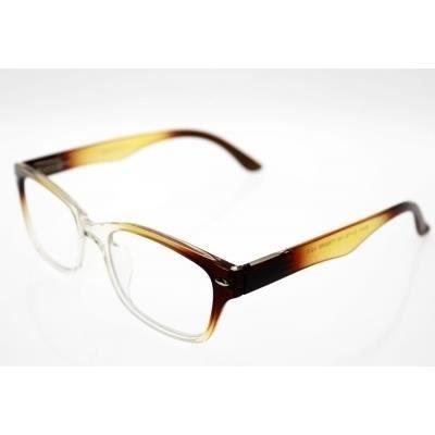 lunettes pre montees loupe avec etui souple er4 brun achat vente lunettes de lecture mixte. Black Bedroom Furniture Sets. Home Design Ideas