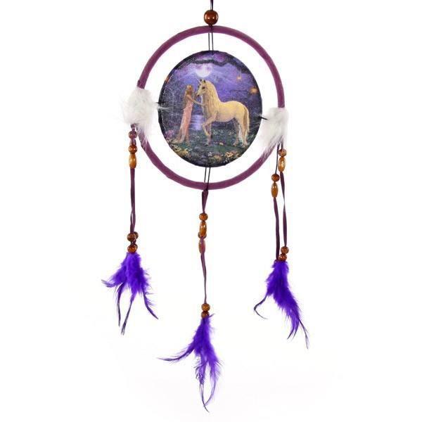 Attrape r ves fantaisie licorne achat vente objet for Decoration murale licorne