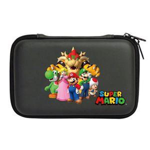 HOUSSE DE TRANSPORT Sacoche rigide Mario New 3DS XL