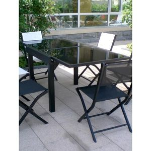 Table jardin modulo achat vente table jardin modulo for Taille table 8 personnes