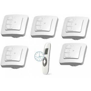 telecommande volet roulant achat vente telecommande volet roulant pas cher cdiscount. Black Bedroom Furniture Sets. Home Design Ideas