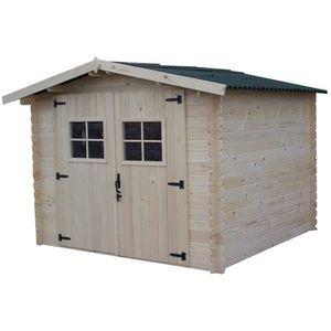 Abri de jardin en bois avec plancher achat - Abri de jardin avec plancher ...