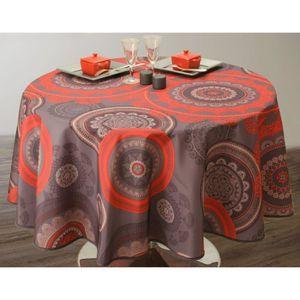 nappe pour table ovale achat vente nappe pour table ovale pas cher cdiscount. Black Bedroom Furniture Sets. Home Design Ideas