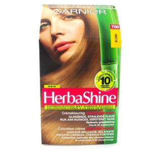 coloration garnier coloration crme herba shine 700 blond - Shampoing Colorant Garnier