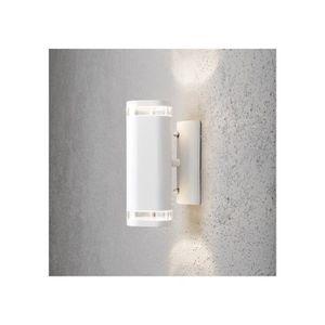 Eclairage exterieur blanc jardin secret achat vente for Lumiere exterieur facade