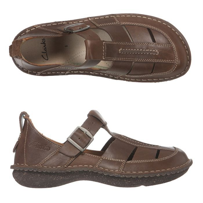 clarks sandales cuir mount fall homme homme marron achat vente clarks mount fall homme pas. Black Bedroom Furniture Sets. Home Design Ideas