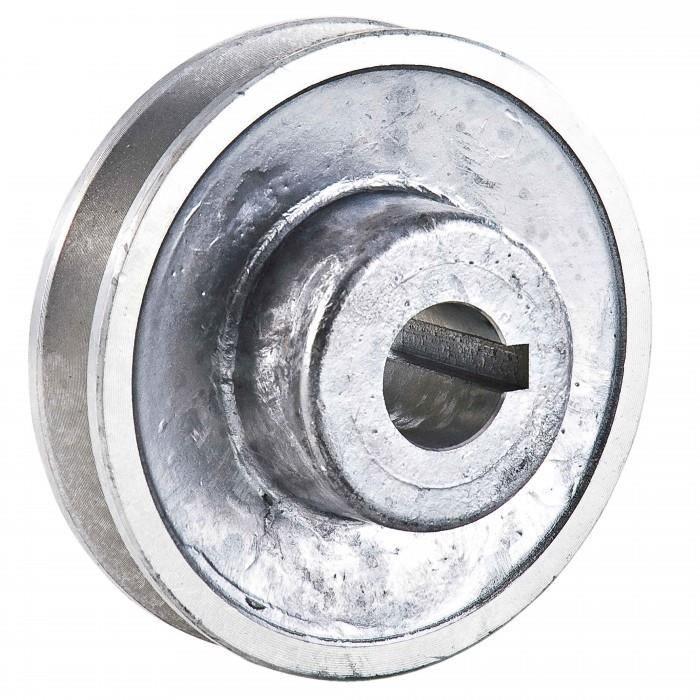 Poulie en aluminium alesage o 19 mm diametre 80 mm - Poulie vis a vis ...