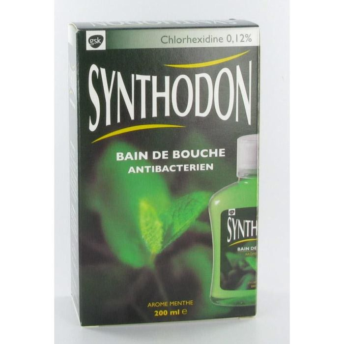 Synthodon bain de bouche achat vente bain de bouche for Bain de bouche antiseptique maison