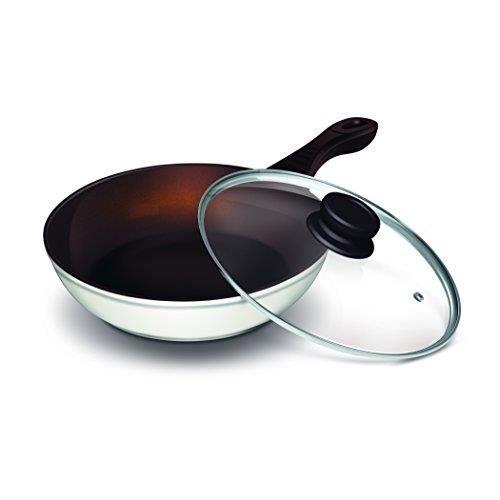 Lamart k2870 mb po le wok en c ramique achat vente wok lamart k2870 mb po - Lagostina poele ceramique ...