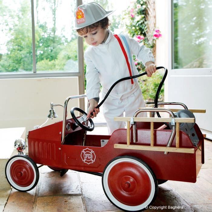 baghera camion de pompier achat vente camion enfant cdiscount. Black Bedroom Furniture Sets. Home Design Ideas