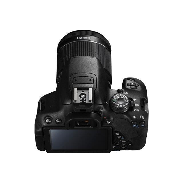 canon eos 700d appareil photo num rique refle achat vente appareil photo compact. Black Bedroom Furniture Sets. Home Design Ideas