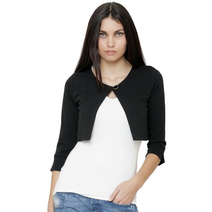 bol ro yuka femme 13ah709 noir noir achat vente veste cdiscount