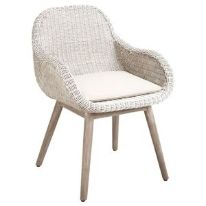 fauteuil rotin blanc achat vente fauteuil rotin blanc pas cher cdiscount. Black Bedroom Furniture Sets. Home Design Ideas
