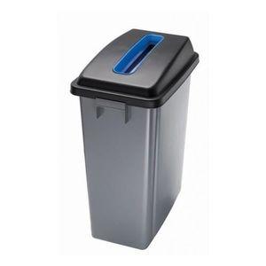 Poubelle plastique avec couvercle achat vente poubelle - Poubelle tri selectif pas cher ...