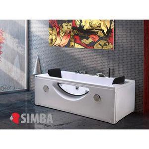 baignoire balneo avec porte achat vente baignoire. Black Bedroom Furniture Sets. Home Design Ideas