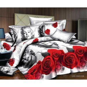 couette marilyn monroe achat vente couette marilyn monroe pas cher soldes d hiver d s le. Black Bedroom Furniture Sets. Home Design Ideas