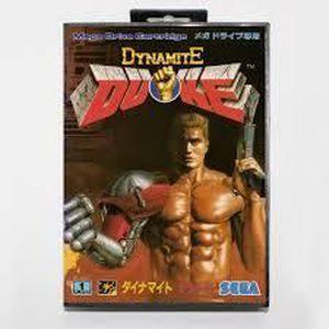 JEU CONSOLE RÉTRO  Dynamite Duke sur Megadrive Japonaise