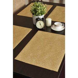 set de table dore achat vente set de table dore pas. Black Bedroom Furniture Sets. Home Design Ideas