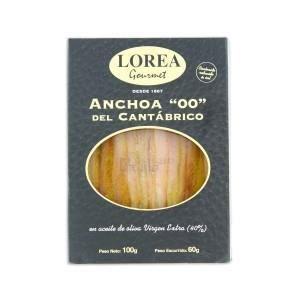 PRODUIT ANCHOIS Anchois de Catabrique taille extra 100 Grs