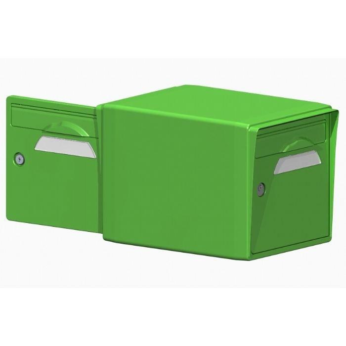 boite aux lettres r sine 2 portes vert mai 18 0 achat vente boite aux lettres cdiscount. Black Bedroom Furniture Sets. Home Design Ideas