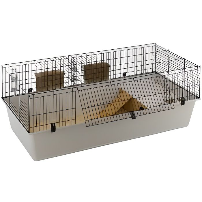 ferplast cage lapins rabbit 160 achat vente cage. Black Bedroom Furniture Sets. Home Design Ideas