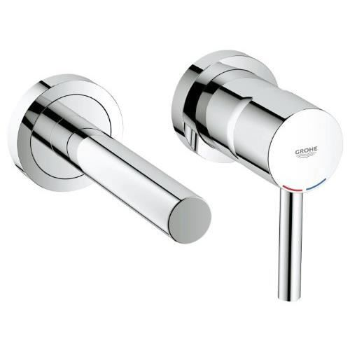 Grohe essence mitigeur lavabo mural 19408000 i achat for Mitigeur mural grohe