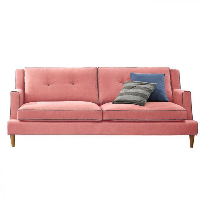 volda canap 200 cm 3 places achat vente canap sofa divan cdiscount. Black Bedroom Furniture Sets. Home Design Ideas