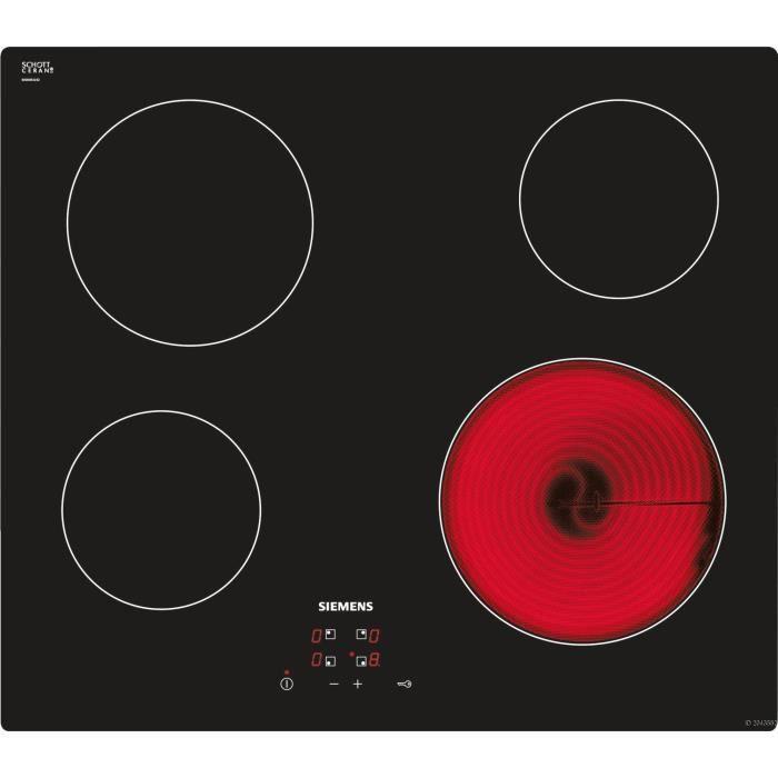 Table de cuisson siemens et611he17e achat vente plaque - Tables de cuisson vitroceramique ...