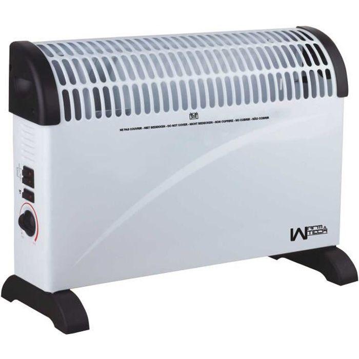 chauffage radiateur lectrique convecteur 2000w achat vente chauffage d. Black Bedroom Furniture Sets. Home Design Ideas