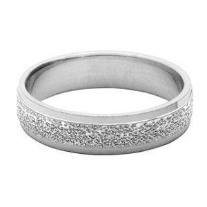 ALLIANCE - SOLITAIRE Alliance Argent diamantee granitée
