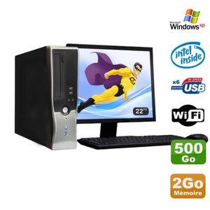 UNITÉ CENTRALE + ÉCRAN Lot PC Nec VL280 DT Dual Core E2160 DVD Ram 2Go Di