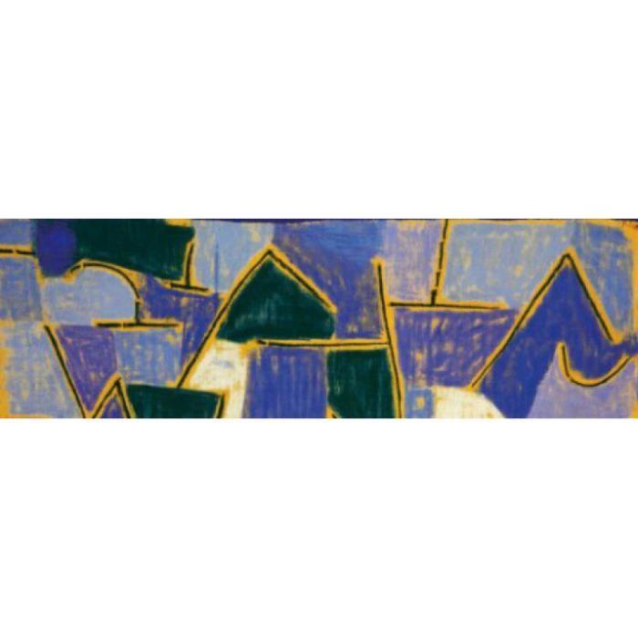 paul klee papier peint photo poster nuit bleu achat vente objet d coration murale cdiscount. Black Bedroom Furniture Sets. Home Design Ideas