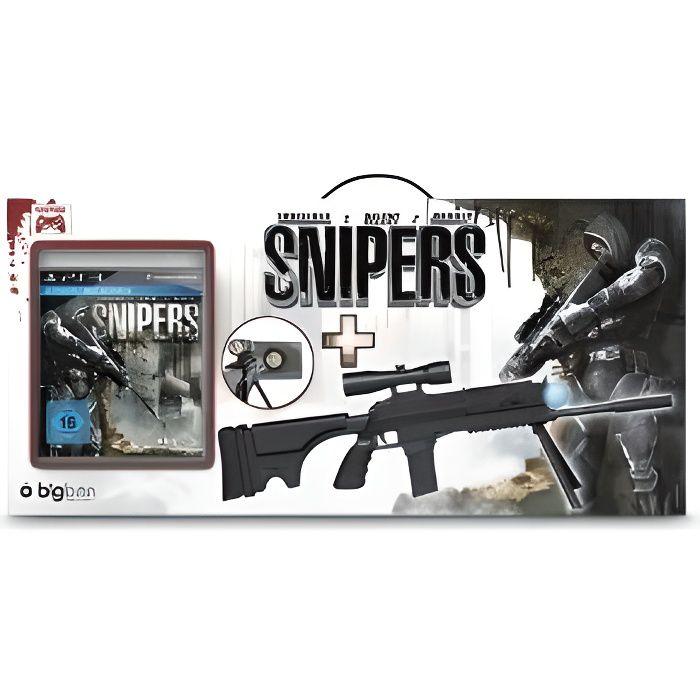 JEU PS3 SNIPERS + SNIPER GUN BLACK / PS3