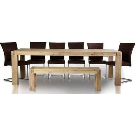 Table manger extensible empire ii 200 250 achat for Achat table a manger