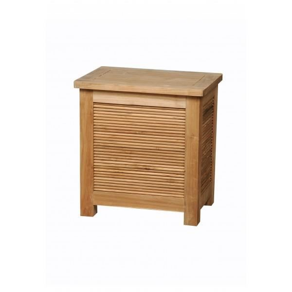 bac linge en teck coffre linge pour salle achat vente panier a linge bac linge en. Black Bedroom Furniture Sets. Home Design Ideas