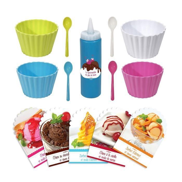 Lily cook coffret glaces gourmandes 4 coloris achat - Coffret cuisine creative ...