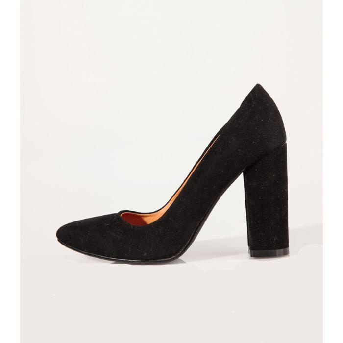 Chaussure A Talon Femme Noir