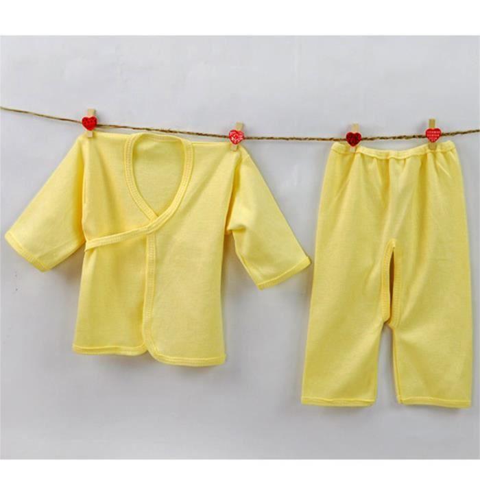 Moonar sous v tements b b nouveau n 0 3m coton set jaune achat vente chemise de nuit - Elle ne porte jamais de sous vetement ...