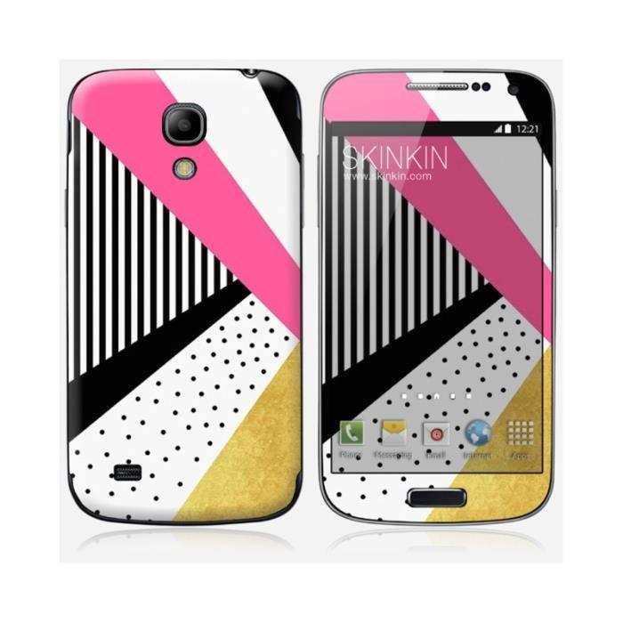 skin samsung galaxy s4 mini design pretty in pink achat sticker t l phone pas cher avis et. Black Bedroom Furniture Sets. Home Design Ideas