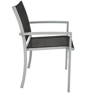 Chaise de jardin m tal achat vente chaise de jardin for Chaises de salon de jardin