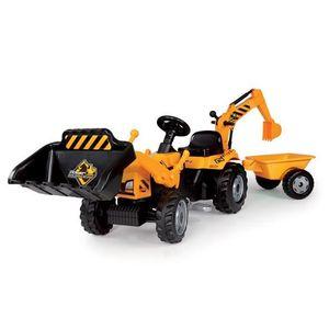 tracteur pelleteuse achat vente jeux et jouets pas chers. Black Bedroom Furniture Sets. Home Design Ideas