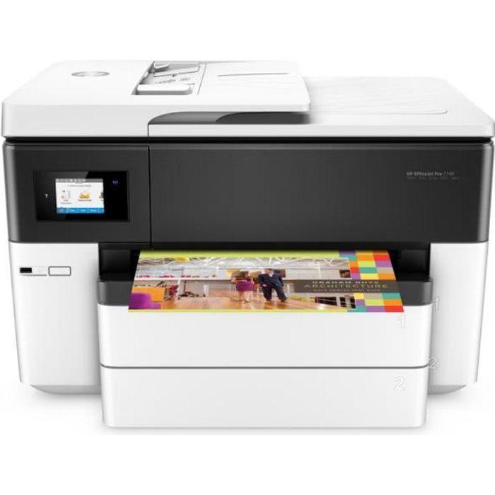 imprimante multifonction a3 hp officejet pro 7740 prix. Black Bedroom Furniture Sets. Home Design Ideas