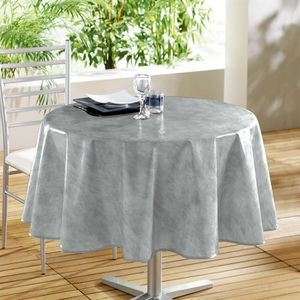 nappe pour table ronde achat vente nappe pour table ronde pas cher cdiscount. Black Bedroom Furniture Sets. Home Design Ideas
