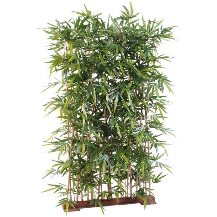 bambou artificiel new haie 150cm socle 75 achat vente fleur artificielle cdiscount. Black Bedroom Furniture Sets. Home Design Ideas