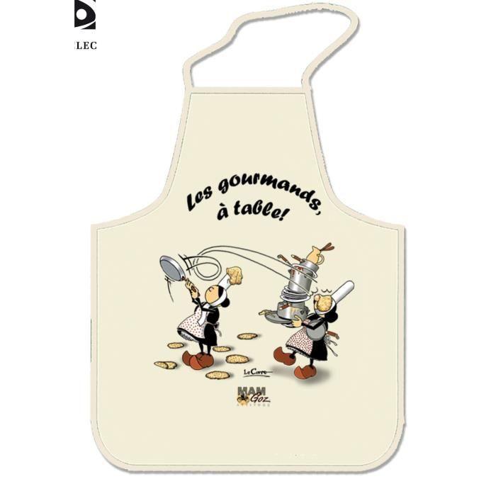 Tablier de cuisine breton motif mam goz achat vente - Model tablier de cuisine ...