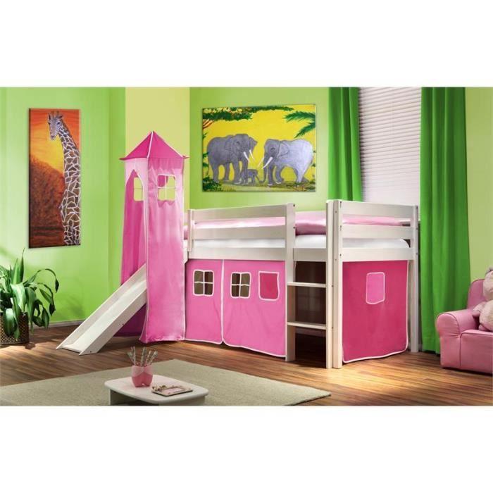 lit surelev sommier matelas tour et tobbpgan achat vente ensemble literie cdiscount. Black Bedroom Furniture Sets. Home Design Ideas