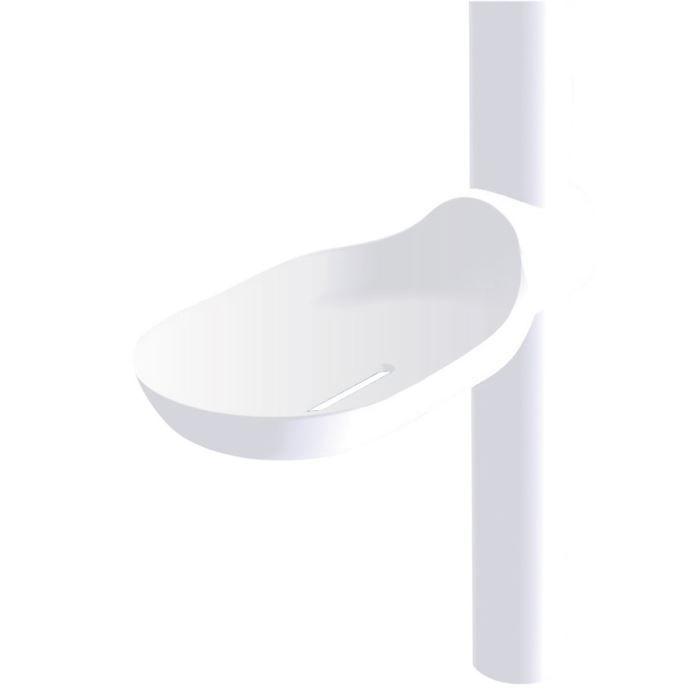 Porte savon coulissant clipsable pour barre achat - Porte savon douche suspendu ...