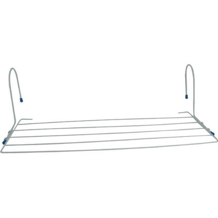 etendoir pour radiateur blanc etendage 2 5 m achat vente fil linge tendoir etendoir. Black Bedroom Furniture Sets. Home Design Ideas