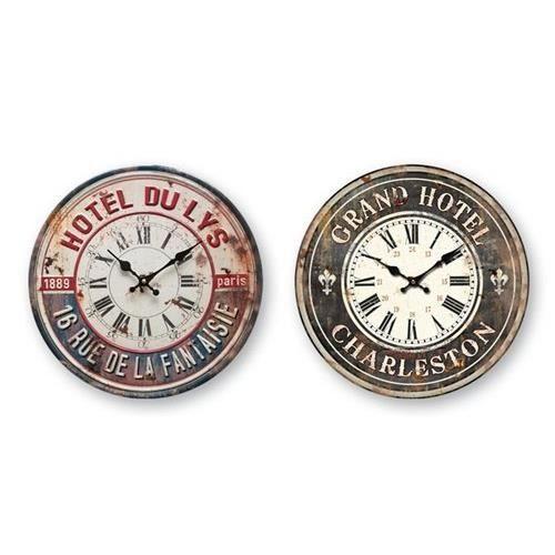 Horloge murale london 40 cm achat vente horloge for Horloge murale 40 cm