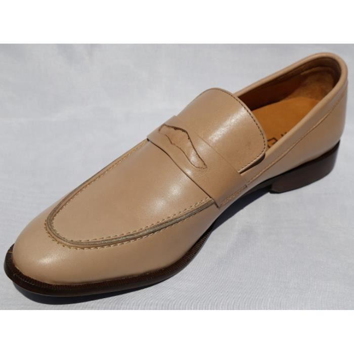 chaussure homme richelieu cuir beige beige beige achat vente richelieu cdiscount. Black Bedroom Furniture Sets. Home Design Ideas